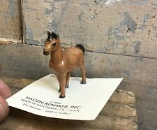 Vintage 1986 Hagen Renaker Miniature Tiny Porcelain Horse Figurine