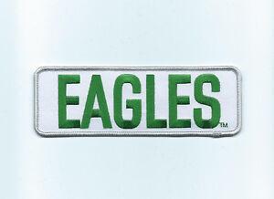 "Vintage 1980s Philadelphia Eagles 6""  Rectangle Patch (Sew or Iron on) throwback"