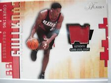 2001-02 FLAIR COURTING GREATNESS GAME USED COURT SCOTTIE PIPPEN PORTLAND  BOX54
