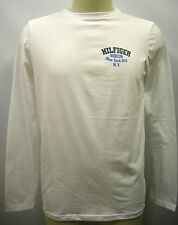 T-shirt maglia uomo sweater man Tommy Hilfilger 2S87901509 T.L 100 bianco white