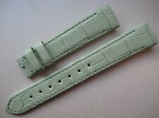 GENUINE FRANCK MULLER WATCH ALLIGATOR STRAP BAND MINT GREEN 16 mm 16 x 14 NEW