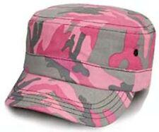 Pink Camo Béisbol Pico Pico Cap Hat Camuflaje señoras Para Mujer Chicas