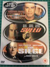 Broken Arrow Speed The Siege 3 discs DVD