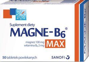 MAGNE B6 MAX - magnesium and vitamin B6
