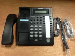 Panasonic KX-T7731 24 Button LCD Speakerphone Charcoal Gray KX-T7731-B