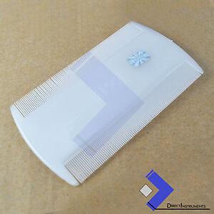 Lice Hair Comb Plastic Dry Wet Nit Flea Lice Eggs Kids Hair Cootie Dust Remover