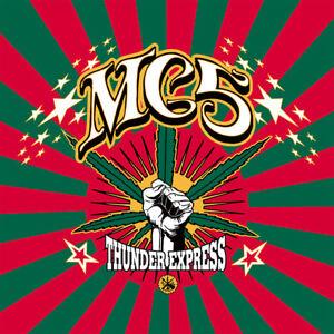 """MC5 """"THUNDER EXPRESS"""" COLOR VINYL LP JOHN SINCLAIR WHITE PANTHER PARTY DETROIT"""