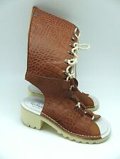 Rare Kickers X Topshop Lace Up Mules Boots Sandals UK 6 EUR 39