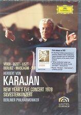 Herbert Von Karajan New Year's Eve Concert 1978 DVD NEW Berlin Philharmonic