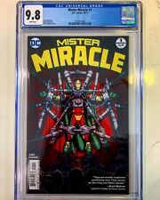 Mister Miracle 1 CGC 9.8 Tom King Gerads 1st Printing 🎞🎥 Movie New Gods🚨🚨🚨