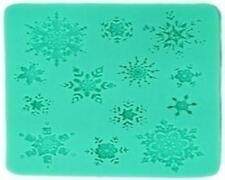 Schneeflocke Schnee Torten Ausstechform Ausstecher Fondant Marzipan Silikonform