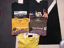 lot 4 tee shirt maillot homme manches courtes taille XL OCCASION