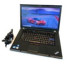 Lenovo ThinkPad T520 i5-2520M 2.5GHz/4GB RAM/512GB SSD/Win 10 Pro/*Warranty*