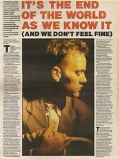 5/8/89Pgn12 Article & Picture Rem In 'it's The End Of The World As We Know It'