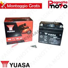 BATTERIA YUASA TTZ7S PRECARICATA SIGILLATA HONDA SH I MODE 125 2013>