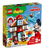 LEGO 10889 DUPLO Mickey's Vacation House 57 pieces Age 2 plus~ NEW ~