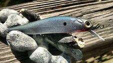 CUSTOM MEGABASS VISION 110 JERKBAIT SWIMBAT BLUE BACK COLOR SHAD FISHING LURES