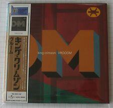 KING CRIMSON - VROOOM JAPAN MINI LP CD NEU RAR! UICE-9063