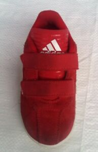 Adidas Copa Trainers Size 8(k) Infant (Red)