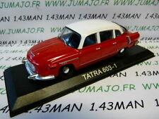 BAL27H Voiture 1/43 IXO DEAGOSTINI Balkans : TATRA 603-1 rouge