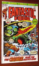 Fantastic Four #126 origin cover swipe