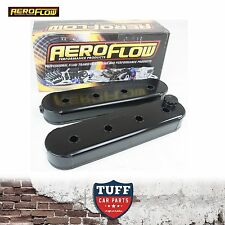 Holden Commodore VT VX VY VZ LS1 LS2 V8 Aeroflow Black Fabricated Valve Covers