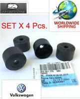 Genuine VW 4x Locking Wheel Nut Bolt Plastic Caps Golf Passat Scirocco 3C0601173