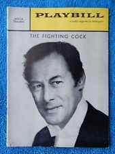 The Fighting Cock - ANTA Theatre Playbill - February 15th, 1960 - Rex Harrison