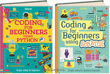 Coding for Beginners Using Python & Coding for Beginners Using Scratch (2 Books)