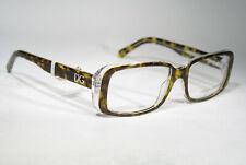 Unworn DOLCE & GABBANA DG 3073 Unisex Tortoise Clear Eyeglasses Glasses Frames