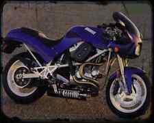 Buell M2 Cyclone 3 A4 métal signe Moto Vintage Aged