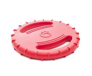 Mascota Frisbee Frisbee Juguete Para Perros Frisbee De Goma Tpr Discos Para Perros Para Mascotas Al Aire Libre Discos Voladores Para Perros Entrenamiento Para Cachorros Juguete De Goma Fetch Disco Vol