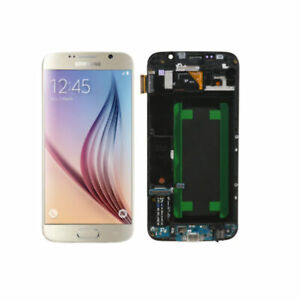 For Samsung Galaxy S6 G920f LCD Display Touch Screen Digitizer Replace w/ Frame