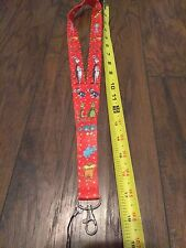 Dr Seuss lanyard necklace cat hat Grinch thing Horton lorax party teacher gift