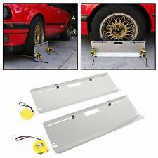 Most Accurate DIY Wheel Alignment Tool/Gauge &Toe Plates Aluminum