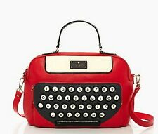 Brand New: Kate Spade Typewriter All Typed Up Clyde in Red