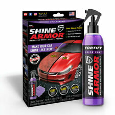 Shine Armor 3-IN-1 Ceramic Coating, Car Wax, Wash and Shine, As Seen on TV