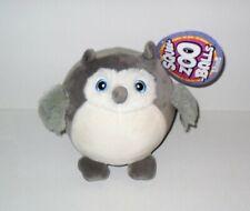 Squee-Zoo-Balls Tellement Moelleux Mignon Simple Chouette Neuf avec Étiquette