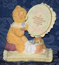 "BRAINBRIDGE BEARS Figurine POLLY ""Friendship Sampler"" by CARLTON CARDS"