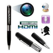 Bolígrafo Espía Mini Cámara Oculta HD CAM USB DVR Grabación De Vídeo Spycam 5V 1280 X 960