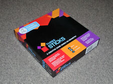 THREE STICKS : A CREATIVE GAME BASED ON GEOMETRY - BY KITKI In VGC (FREE UK P&P)