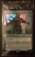Stained Glass Nissa, Who Shakes the World - NM - Secret Lair Magic the Gathering