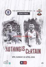 * 2018 FA CUP SEMI-FINAL - CHELSEA v SOUTHAMPTON *