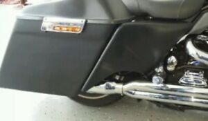 """Harley 4"""" Stretched Side Covers Touring Harley 1997-2007 baggers"""