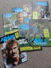 football programmes WEST BROMWICH ALBION 1980 x 7 programmes home job lot