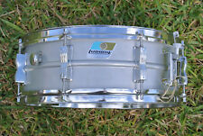 ADD this VINTAGE LUDWIG USA ACROLITE ALUMINUM SNARE DRUM to YOUR DRUM SET! #D943