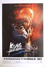 Kong: Skull Island IMAX Poster King Kong Tom Hiddleston Samuel L. Jackson A3+