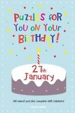 Puzzles for You on Your Birthday - 27th January by Clarity Media (2014,...