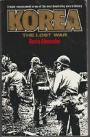 BOOK  MILITARY WAR ILLUSTRATED KOREA THE LOST WAR 557 PAGES