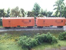 Set of 2 Walthers 40' meat reefers, ART